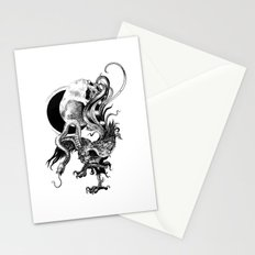 Silver And The Beast Stationery Cards