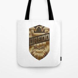 Judge Dredd Badge Tote Bag