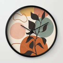 Abstract Minimal Shapes 23 Wall Clock