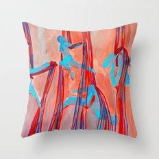 Aerial Quartet Throw Pillow