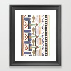 Pattern 004 Framed Art Print
