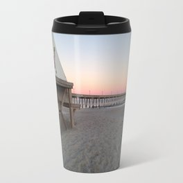 Pink winter sky Travel Mug