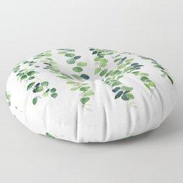 Eucalyptus Garland  Floor Pillow
