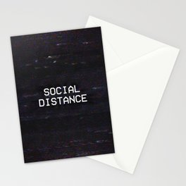 SOCIAL DISTANCE Stationery Cards