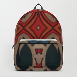 Marais Geometric hand drawn print Backpack