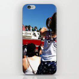 Wave to the Fireman! iPhone Skin