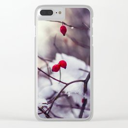 Wild nature Clear iPhone Case