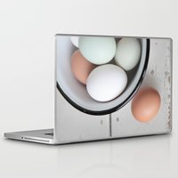 eggs Laptop & iPad Skins featuring Eggs by Schaepman & Habets