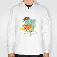 street fighter Hoodies featuring STREET FIGHTER - DHALSIN by mirojunior