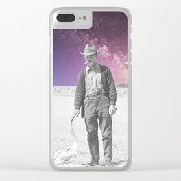 Strange connection Clear iPhone Case