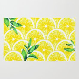 Zesty - lemonade Rug