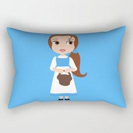 She's a funny girl that Belle Rectangular Pillow