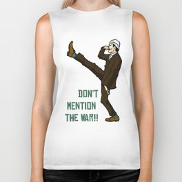 Don't Mention the War!! Biker Tank