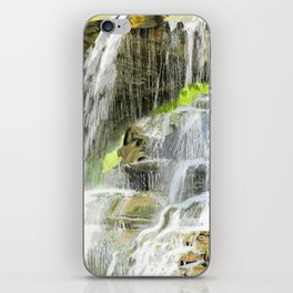 Misty Fountain Waterfall iPhone Skin