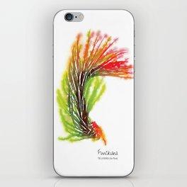 Tillandsia Funckiana Air Plant Watercolors iPhone Skin