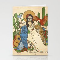 mexico Stationery Cards featuring Mexico by Anne Kelley