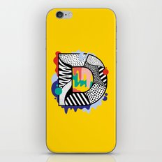 D for …. iPhone Skin