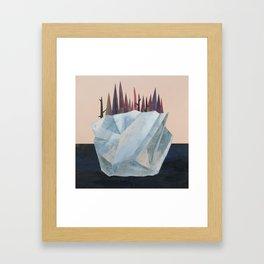 Iceberg of Solitude Framed Art Print
