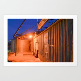 Night Light 8 Art Print