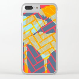 Treading Nature Clear iPhone Case