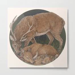You are my deer Metal Print