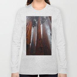 Tall Redwood Trees Long Sleeve T-shirt