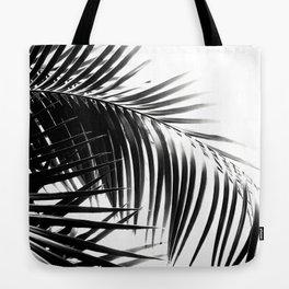 Palm Leaves Black & White Vibes #3 #tropical #decor #art #society6 Tote Bag