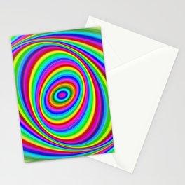 Rainbow Hypnosis Stationery Cards