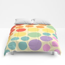 seeing dots Comforters
