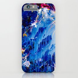 As The Universe Falls Together iPhone Case