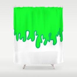 Slime Ball Shower Curtain