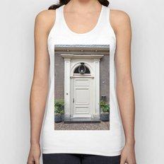 White church door Unisex Tank Top