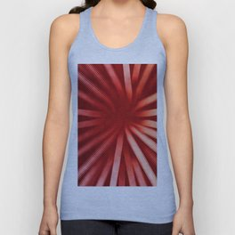 Intersecting-Red Unisex Tank Top