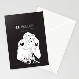 World Chess Championship Match Stationery Cards