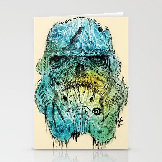 Storm Zombie Stationery Cards