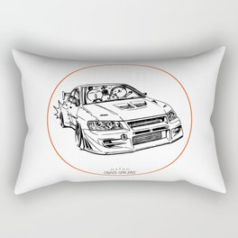Crazy Car Art 0196 Rectangular Pillow