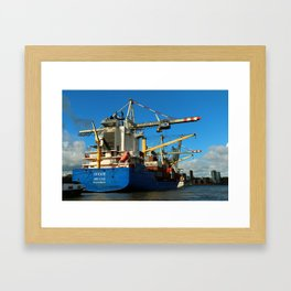 Container Ship Framed Art Print