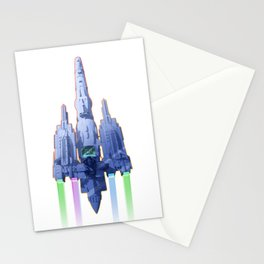 THE KING OF SPACE Stationery Cards