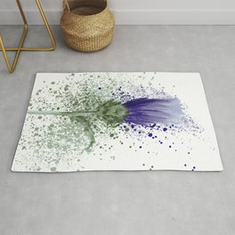 The Thistle  Rug