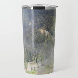 Waiting Under the Towering 13,066-foot Kendall Mountain Travel Mug
