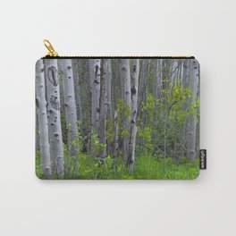 Ghostly Trees Carry-All Pouch