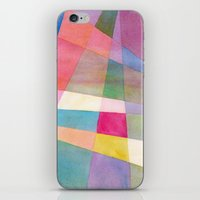 grid iPhone & iPod Skins featuring Grid by Dreamy Me