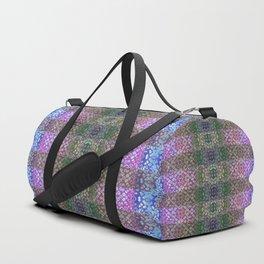 Shibori Sue Plaid Duffle Bag