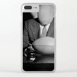 Mr Melon wondering what that is. 1942. Clear iPhone Case