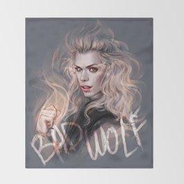 Bad Wolf Throw Blanket
