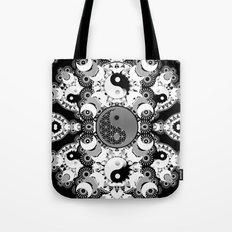 YinYang Sacred Geometry Totem Tote Bag