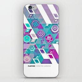 PLANTONE // Isometric Gardens iPhone Skin