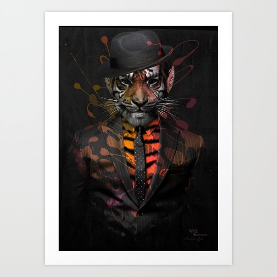 Wild Business Art Print