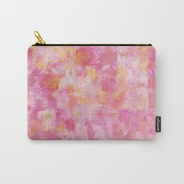 Abstract pink painting Carry-All Pouch