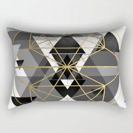 Geometric Perfection Rectangular Pillow